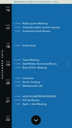 Moleskine Timepage – Calendar for iCloud, Google & Exchange Screenshots…                                                                                                                                                                                 More