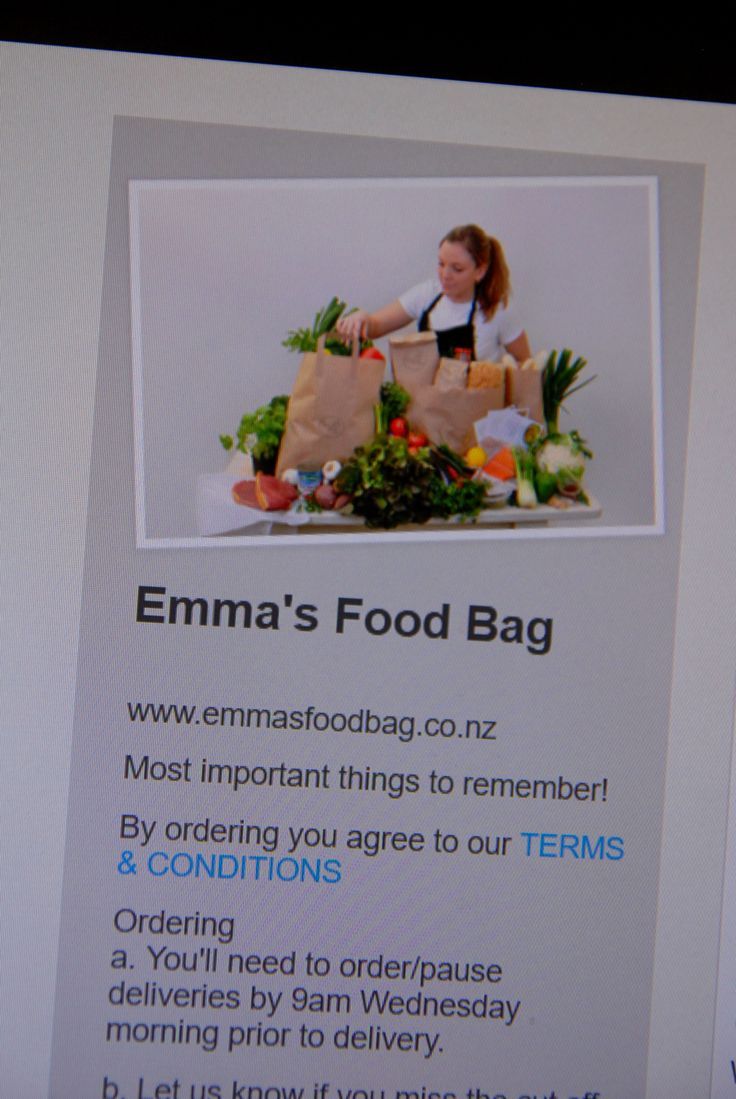 Emmas Food Bag in Bucky Box, photo from PT´s Foto Fun