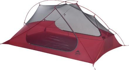 Great super lightweight tent for two.    MSR Freelite 2 Tent - roomy and light