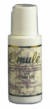 Emu Oil - Protein Conditioner 1oz by High Cascade. $3.00. Improves Volume. Improves Manageability. Improves Luster. Perfect for daily use, our professionally formulated conditioner with Emu Oil improves luster, volume and, manageability.