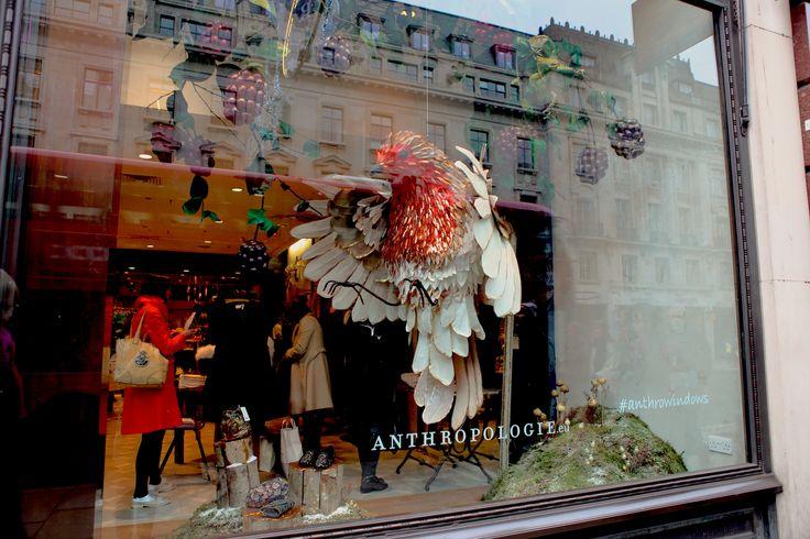 A beautiful window in #RegentStreet at @anthropologieeu to celebrate the #Christmas season.