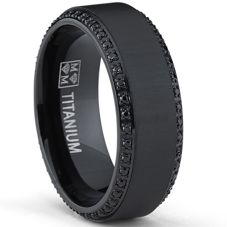 25 best Black Wedding Bands ideas on Pinterest