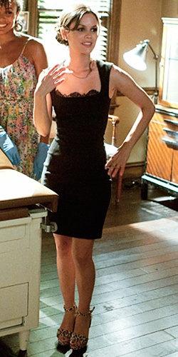 L agence black dress costume