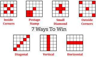 7 ways to win #bingo patterns