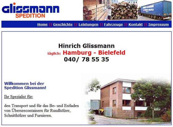 Spedition Glissmann in Hamburg.