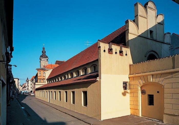"""Masné krámy"" in České Budějovice, Czechia #street #city #czechia"