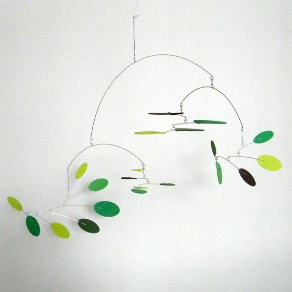 mid century modern mobile hanging sculpture kinetic. Black Bedroom Furniture Sets. Home Design Ideas