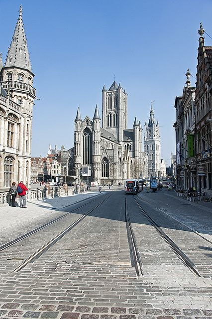Gent, Belgium   Have wandered these streets so many times, the town of my birth