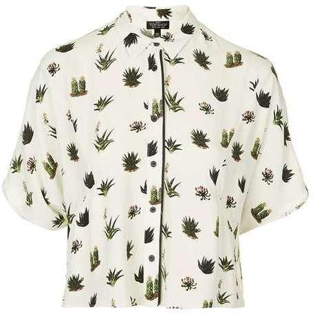 Tall cactus pyjama shirt