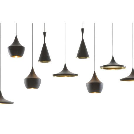 Beat Lights by Tom Dixon | From a unique collection of antique and modern chandeliers and pendants  at http://www.1stdibs.com/furniture/lighting/chandeliers-pendant-lights/