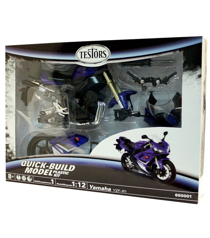 1:12 Yamaha Yzf R1 Motorcycle Model Kit