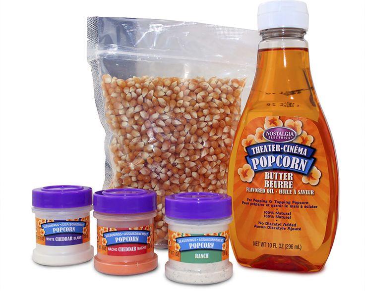 Theater Popcorn Kit