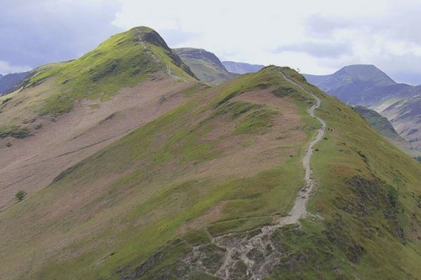 Here is the route to Julia Bradbury's Catbells Walk as seen in her television series Wainwright Walks.