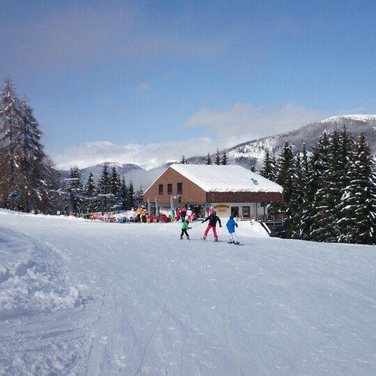 Toller Skitag auf der Strohsackhütte. www.almrausch.co.at