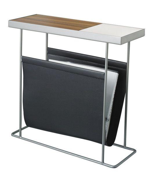 COMPANION SIDE TABLE WITH MAGAZINE RACK  $275.00
