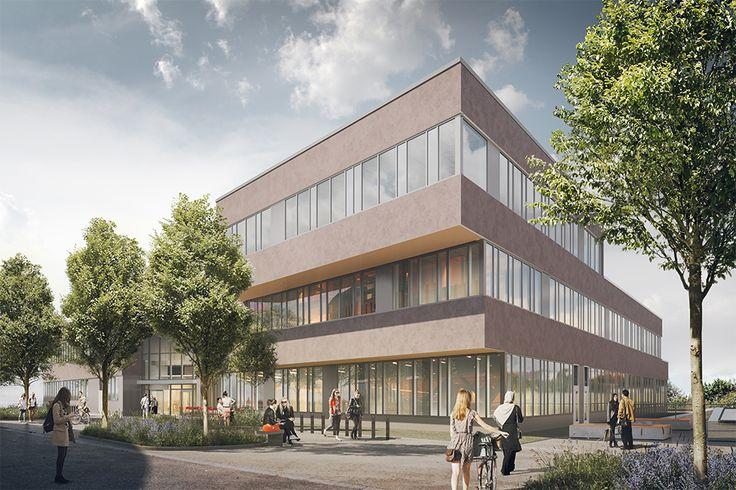 Gata 3, Albano, Stockholm. Byggstart 2016. Färdig 2020. Arkitektskiss: BSK Arkitekter
