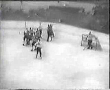 Jean Beliveau's first game video