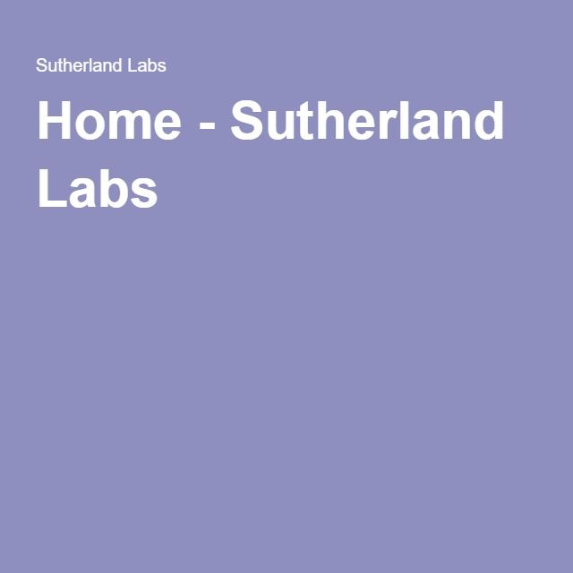 Home - Sutherland Labs