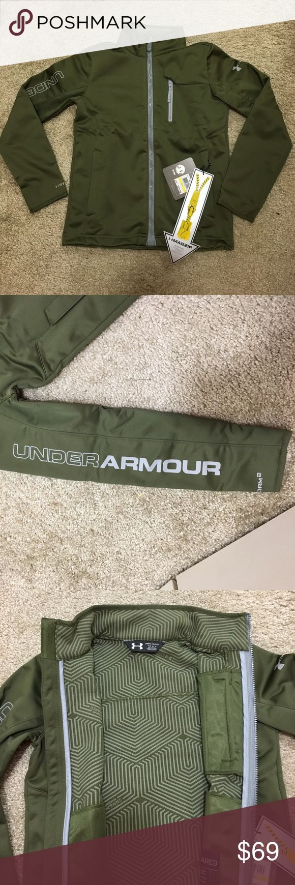 Spotted while shopping on Poshmark: Boys Under Armour highly water-resistant coat! #poshmark #fashion #shopping #style #Under Armour #Other