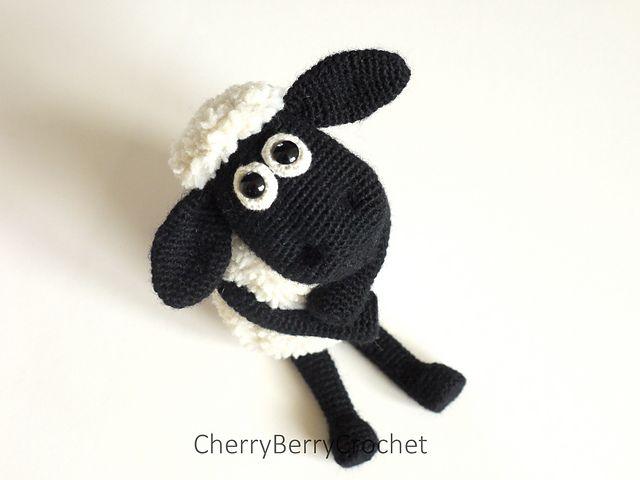 Ravelry: Shaun the sheep pattern by Cherry Berry Crochet