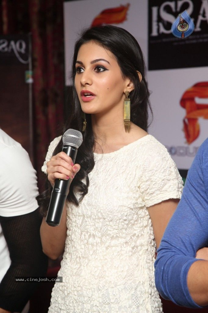 Amyra Dastur in Issaq Movie Press Meet