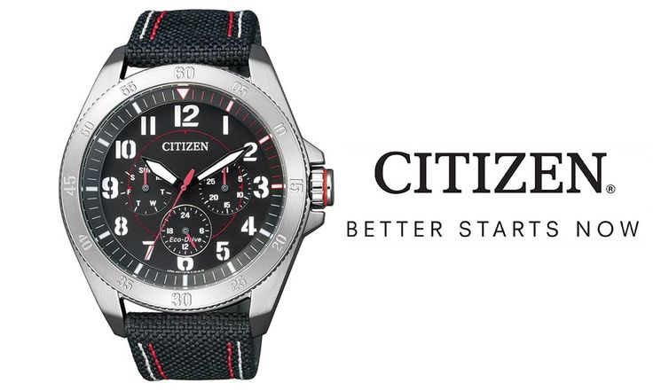 Since its foundation in 1930, CITIZEN has spearheaded a revolution of innovation in watchmaking. Among its prominent achievements is Eco-Drive, an original light-driven technological breakthrough. Progressive Eco-Drive technology harnesses the power of light – from any natural or artificial light source – and converts it into energy. This means it recharges continuously, so you'll never...