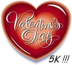 valentine's day 5k russellville ar