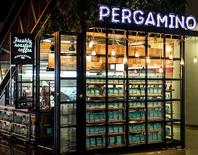 "Check out new work on my @Behance portfolio: ""CAFÉ PERGAMINO"" http://on.be.net/1fPKJOe"