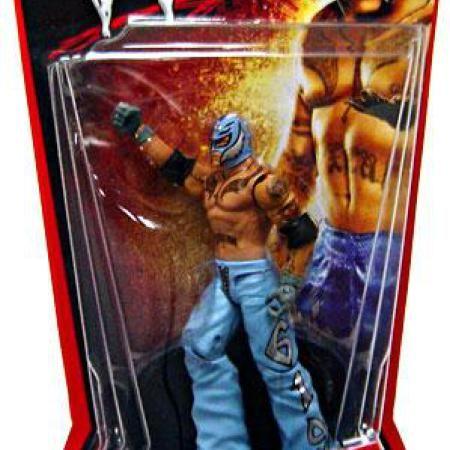 Wal-Mart.com USA LLC  WWE Wrestling Basic Series 2 Rey Mysterio Action Figure