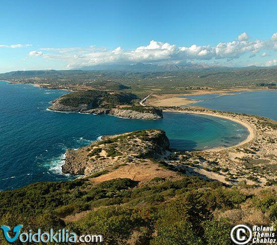 Voidokilia (and Pylos) Greece