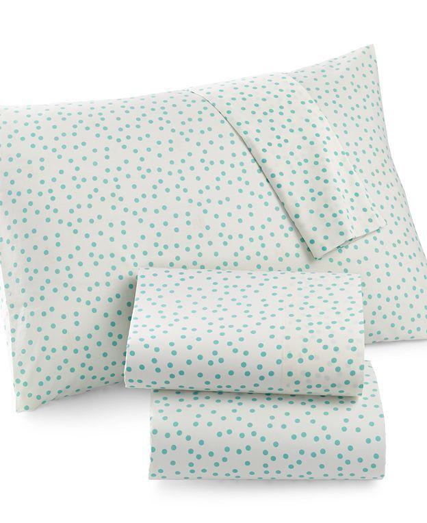 Whim by Martha Stewart Collection Pop Dot Bedding Collection - Bedding Collections - Bed & Bath - Macy's