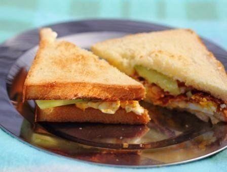Всё о еде...: Яичные сандвичи для пикника или к завтраку!