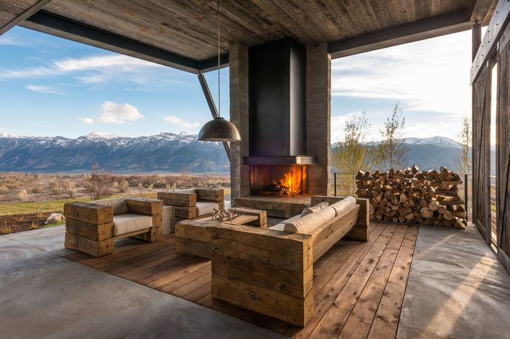 rustic deck ideas deck rustic with hearth traditional firewood racks