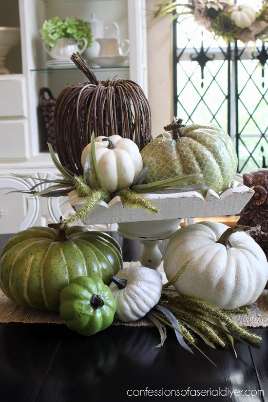 Beautiful Fall Decorations To Make - Design, Dining + Diapers