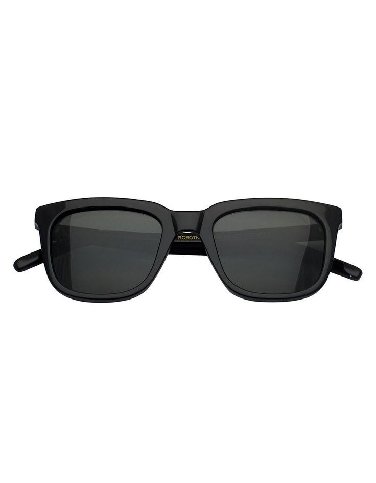 Monokel Black Robotnik Sunglasses | Accent Clothing