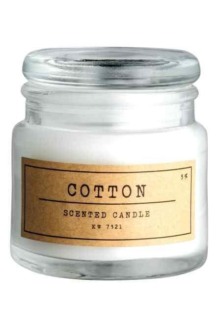 Świeczka zapachowa w pojemniku