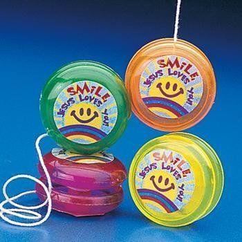 sponsor kids love fun toys like yo-yos, slinkies, and bouncy balls.