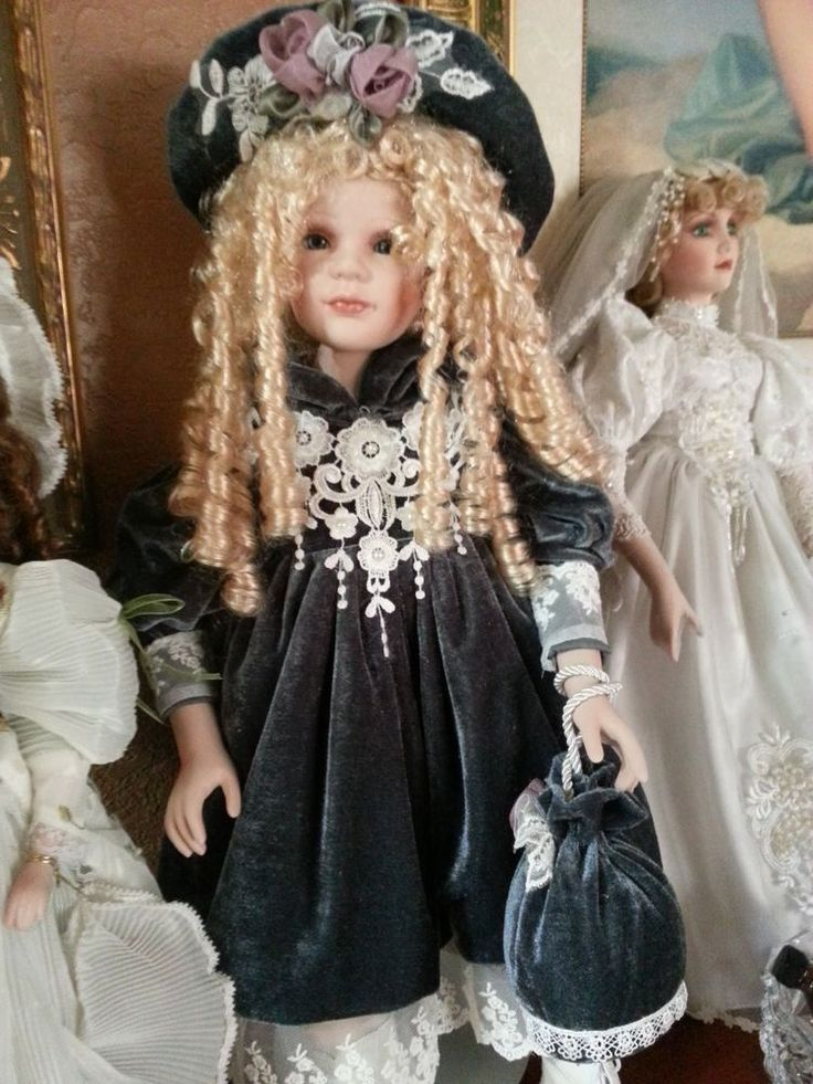 128 Best Images About Porcelain Dolls On Pinterest