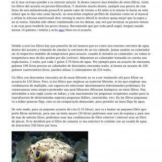 Elementos Del Acuario La razon principal para tener un filtro de pecera en el acuario es de eliminar cualquier material de desecho de las aguas para que las. http://slidehot.com/resources/elementos-del-acuario.54503/