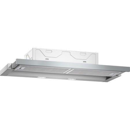 Neff D49ED22N0B 90cm Telescopic Canopy Cooker Hood Silver Metallic | Appliances Direct