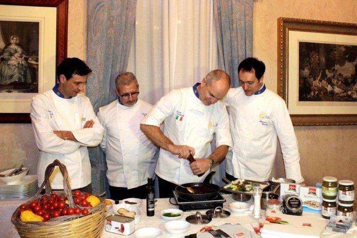Grand Chef Enrico Derflingher & Alessandro Circiello - Demonstration