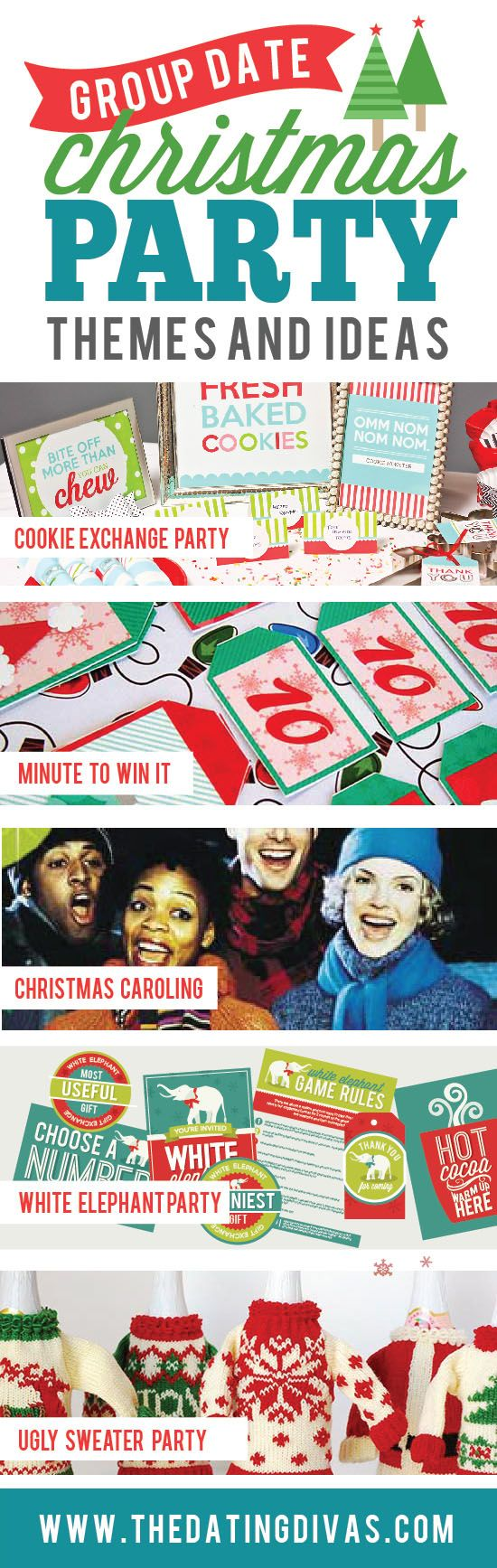 5 Group Date Christmas Party Themes to make this holiday season one to never forget!