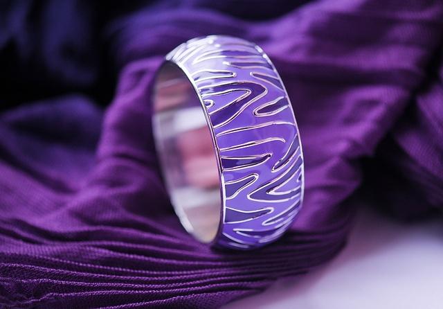 Purple Zebra ring!!