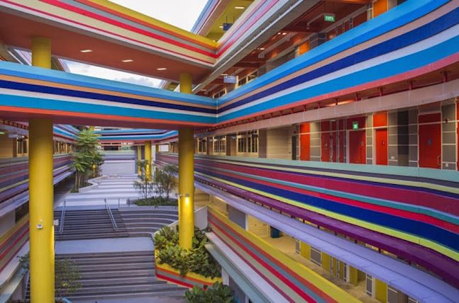 Joyful and Vibrant Primary School in Singapore