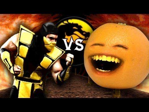 Annoying Orange vs Mortal Kombat