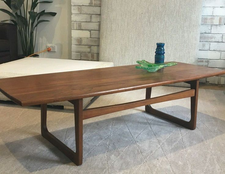 Mid century,parker,eames,Th brown. in Home & Garden, Furniture, Tables | eBay!