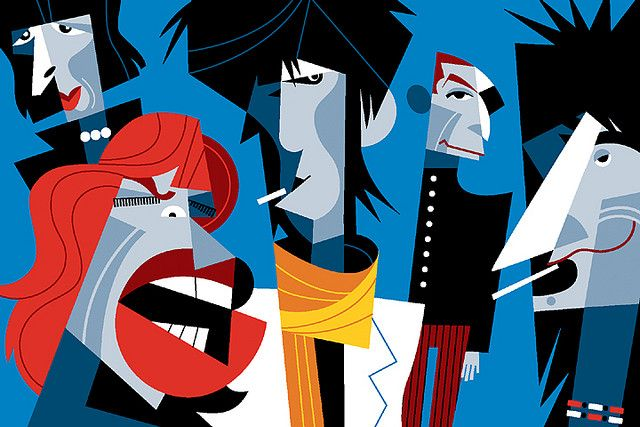 Rolling Stones by Pablo Lobato