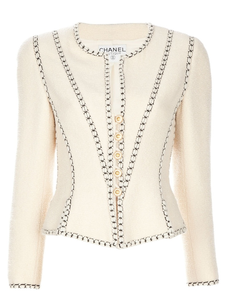 Wonderful Inspiration -The, almost, corseted effect of this jacket is just amazing.