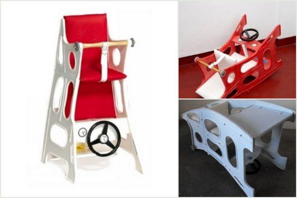 Hokus Pokus barnestol / højstol. Find forhandler og test på frubruun.dk #multifunctionel