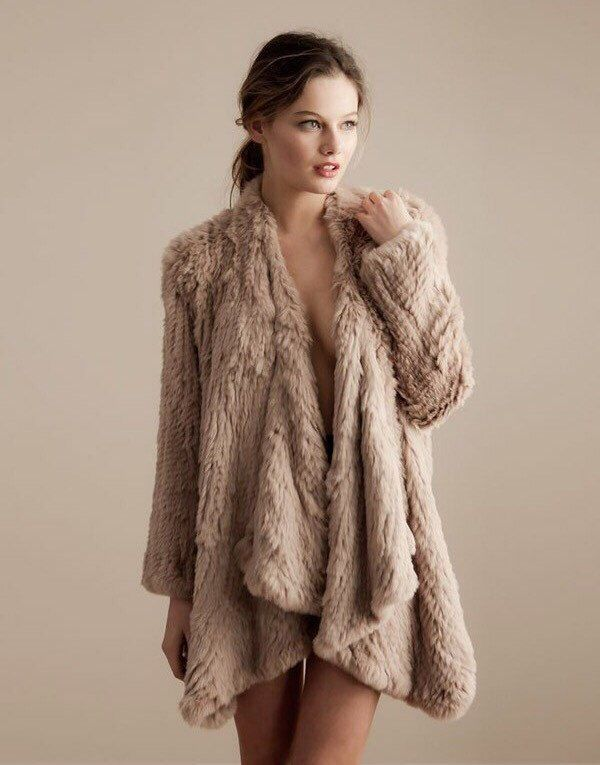 16 best Rabbit Fur Clothing images on Pinterest
